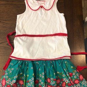 Girls skirt & top set: American Girl Brand